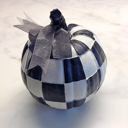 Black & White Pumpkin