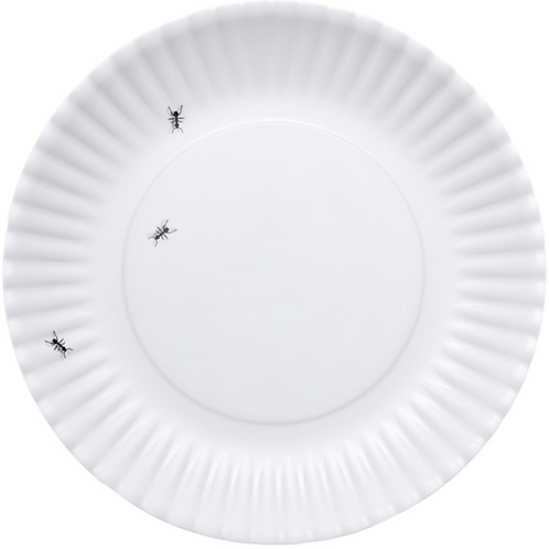 Melamine Ant Plates - Set of 4.