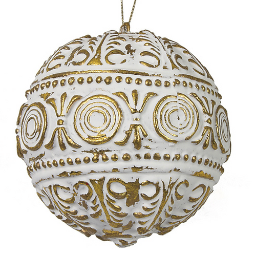 Gold & White Ball