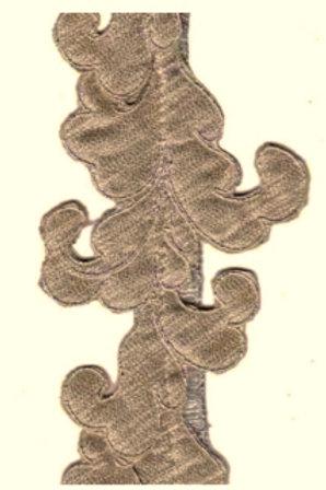 Gold Acanthus Garland
