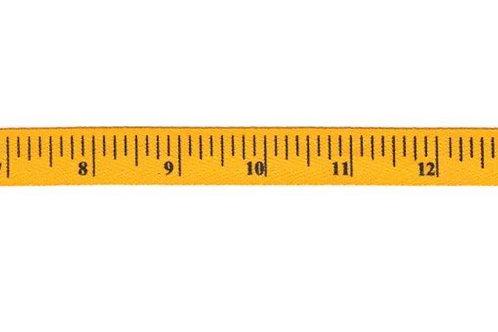 Mustard Tape Measure