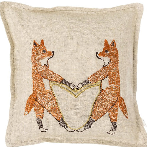 Foxes Gift /Tooth Fairy Cushion