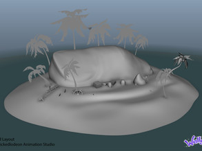 Big Toe Island Enviroment