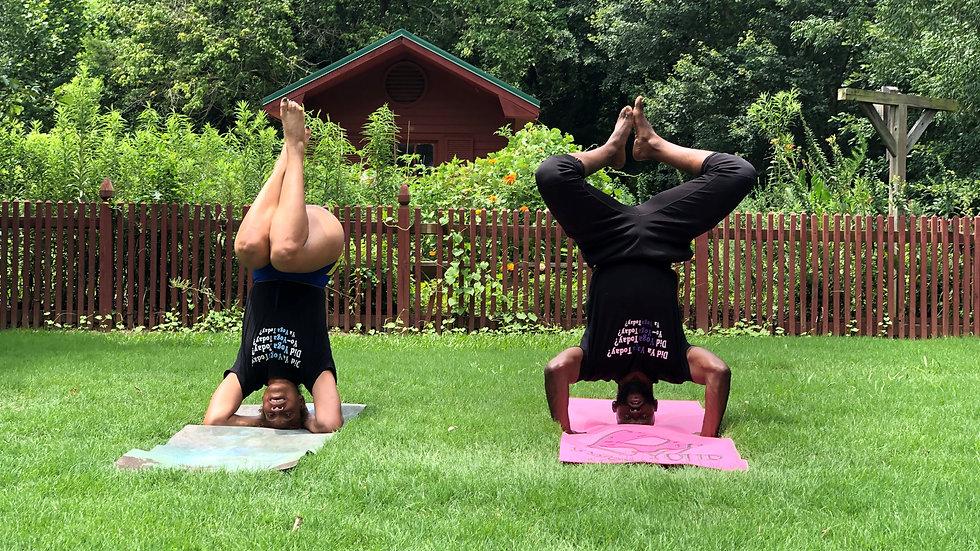 """Yoga Today"" Fashion Tee"