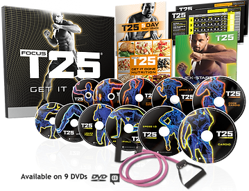 buy focus t25 by sean t fitness from beachbody | ledhealthandfitness