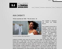 Mulheres do Cinema Brasileiro