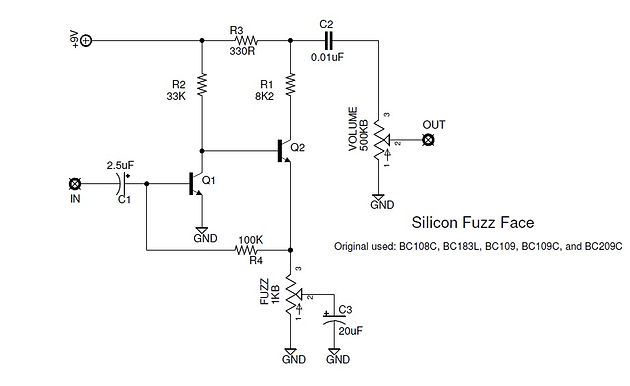 Project 4 - Silicon Fuzz Face on