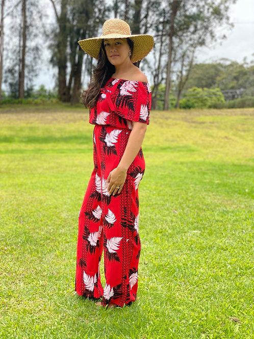 Poʻiu Ruffle Jumpsuit