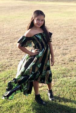 Naupaka ChaCha Dress