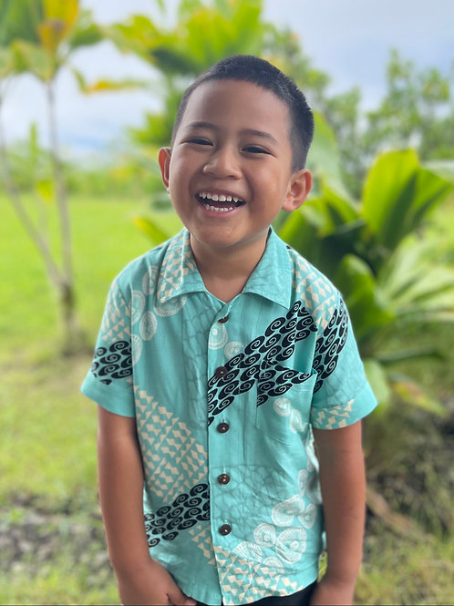 Aloha Buttondown Keiki