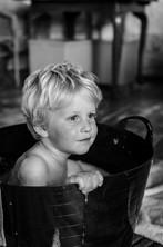 Bath in a bucket!