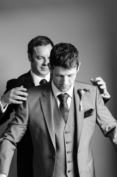 Dave, Groom and Best man