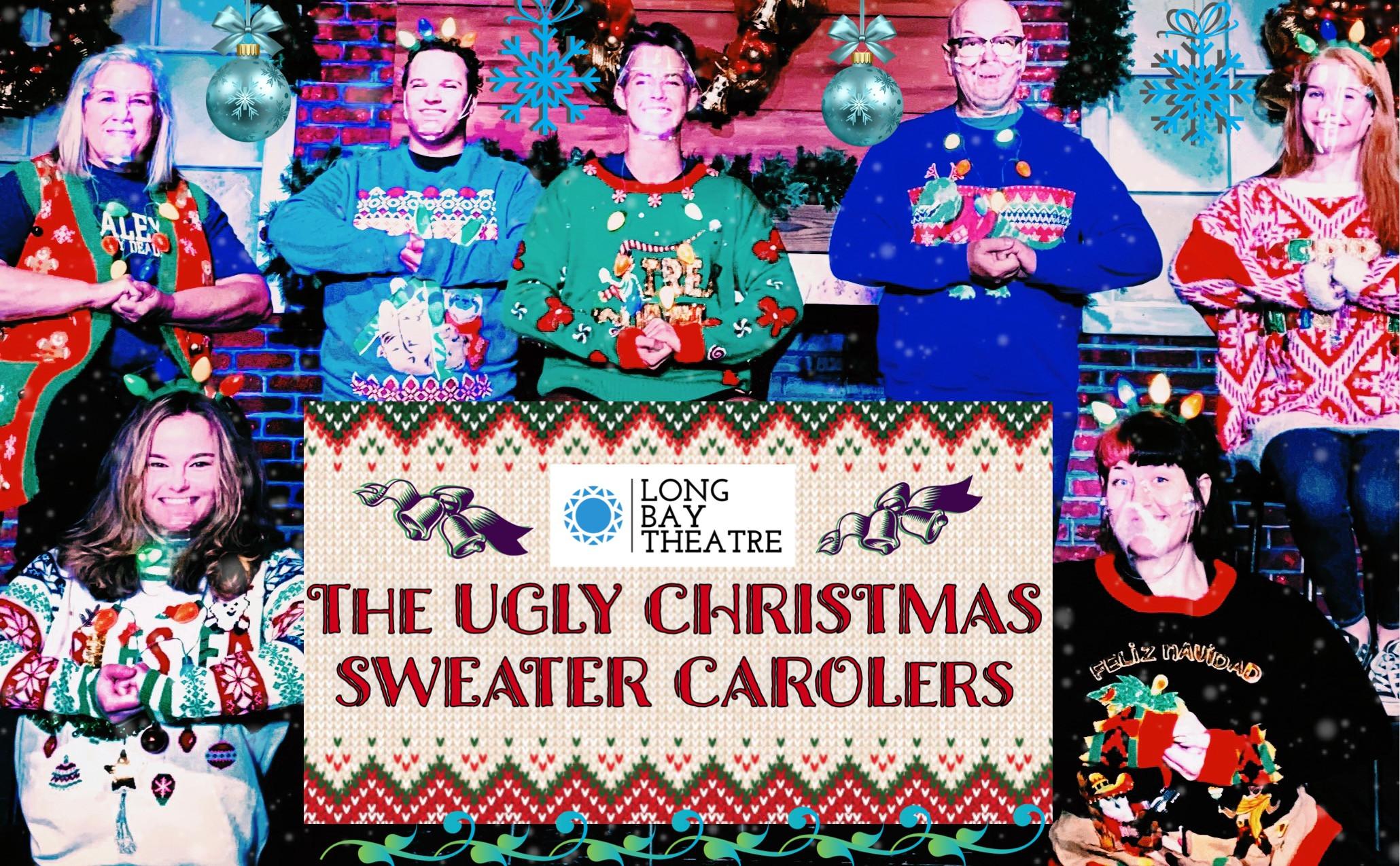 Ugly Christmas Sweater Carolers