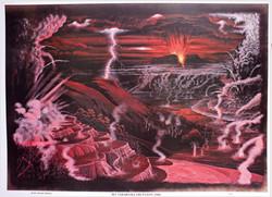 Eruption of Mt Tarawera 1886