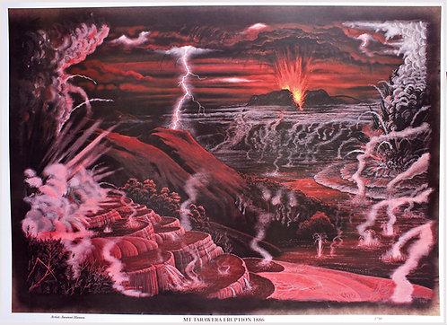 Eruption Mt Tarawera - Awanui Hamon