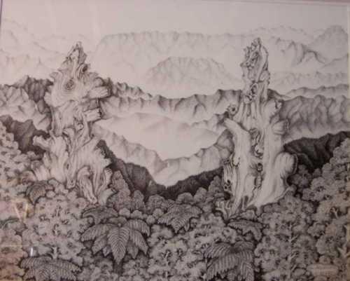 Mt Mangahamia