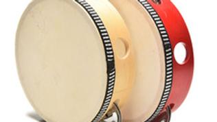 Wooden Drum/Tambourine