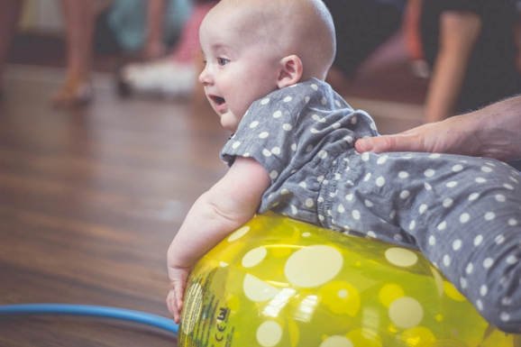 Beach Ball Fun For Babies