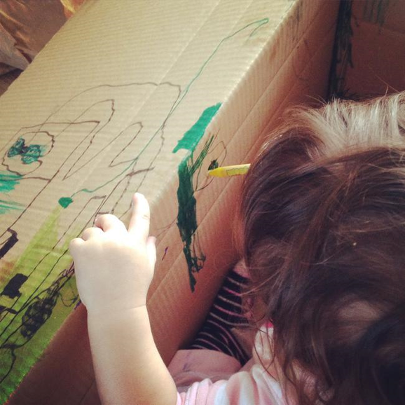 Adventure in a Cardboard Box!