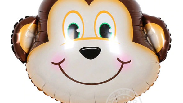 Large Monkey Helium Balloon