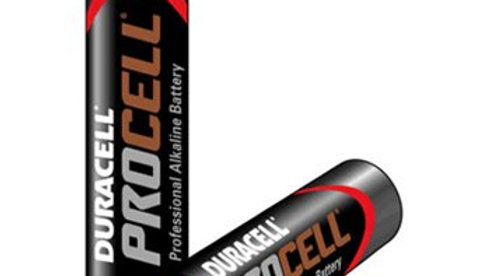 AAA Duracell Procell Batteries Pack10