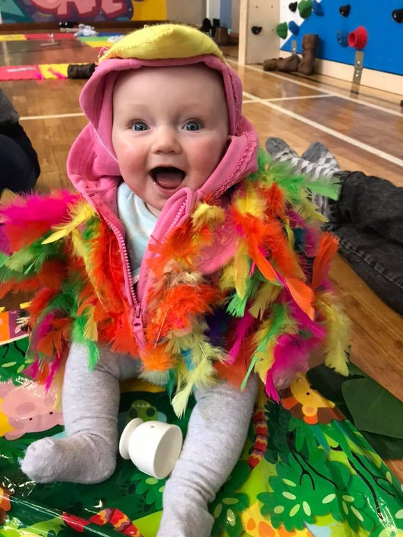 Spring Time Antics at Tots Play!