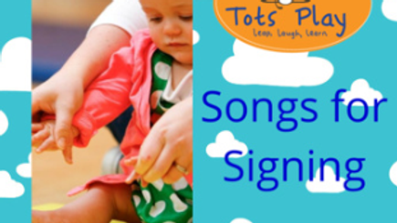 Songs for Signing