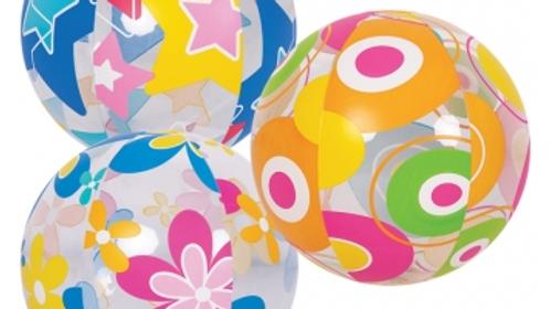 Designer 20cm Beach Ball