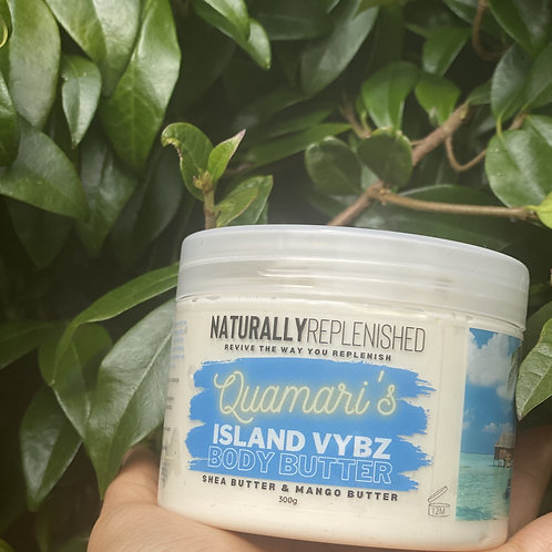 'Quamari's' Island Vybz Body Butter