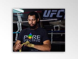 Justin Ledet, professional mma fighter