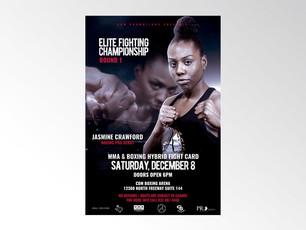 Jasmine Crawford boxing fight