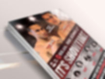 Boxing poster design of Regis Prograis and Abel Ramos for boxing promotion, Showtime