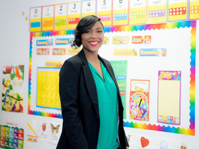 Kesha Washington, owner of Pine's Learning Center