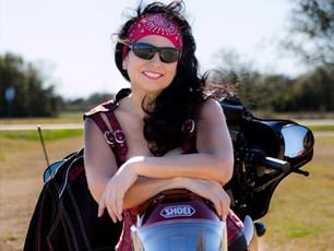 Norma Reyna, massage therapist & biker chick