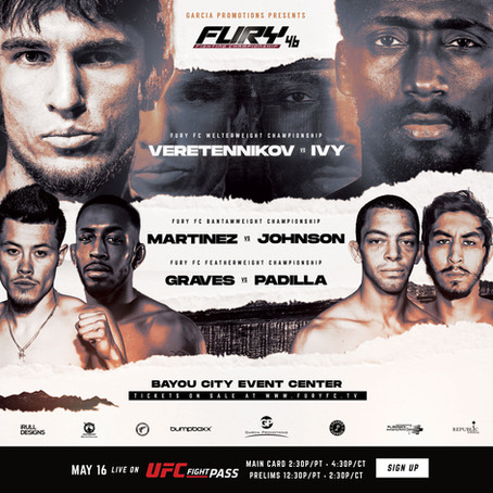 Fury Fighting Championship 46 Preview