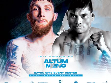 "Fury Fighting Championship 45—Interview with Josh ""SuperGlue""Altum"