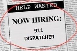 We're Hiring - 911 Dispatcher.JPG