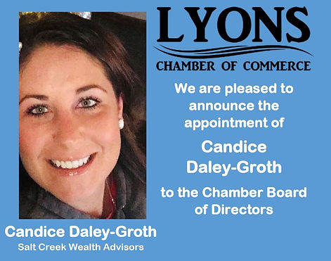 Appointment Announcement - Candice Daley