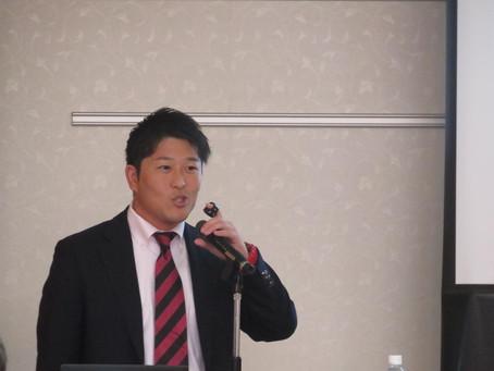 熊本県体育協会主催の競技力向上対策研修会にSCJメンバー藤森が登壇