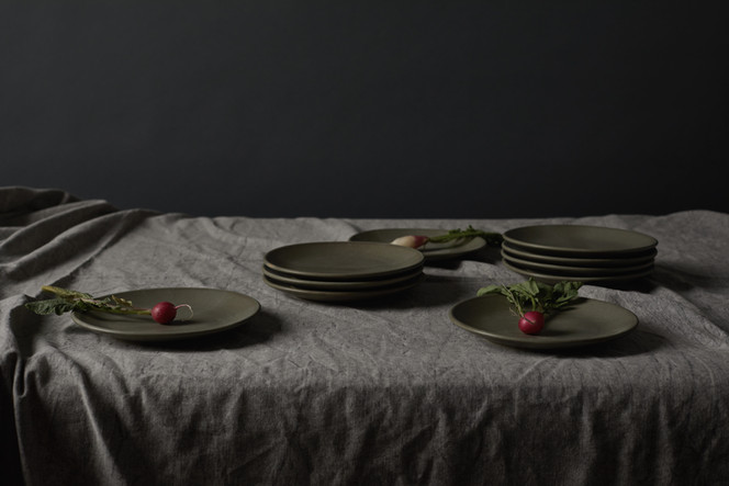 The Good Plate Collection in Eucalyptus Green