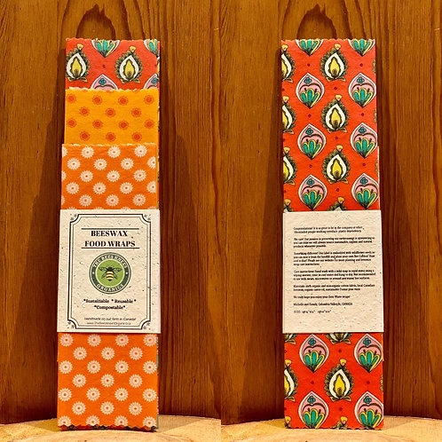 Beeswax Food Wraps- set of 3