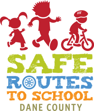 Safe Routes to School of Dane County logo