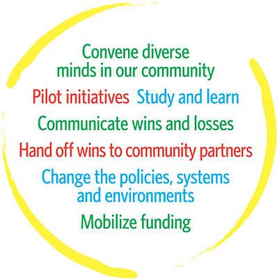 Description of Healthy Kids Collaborative's core practices.
