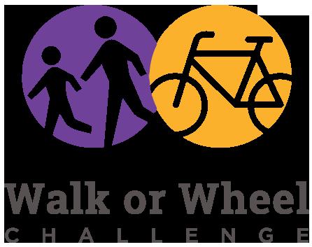 The Walk or Wheel Challenge Logo