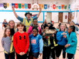 2019 Lindbergh School district WOW Challenge Golden Sneaker Award Winners