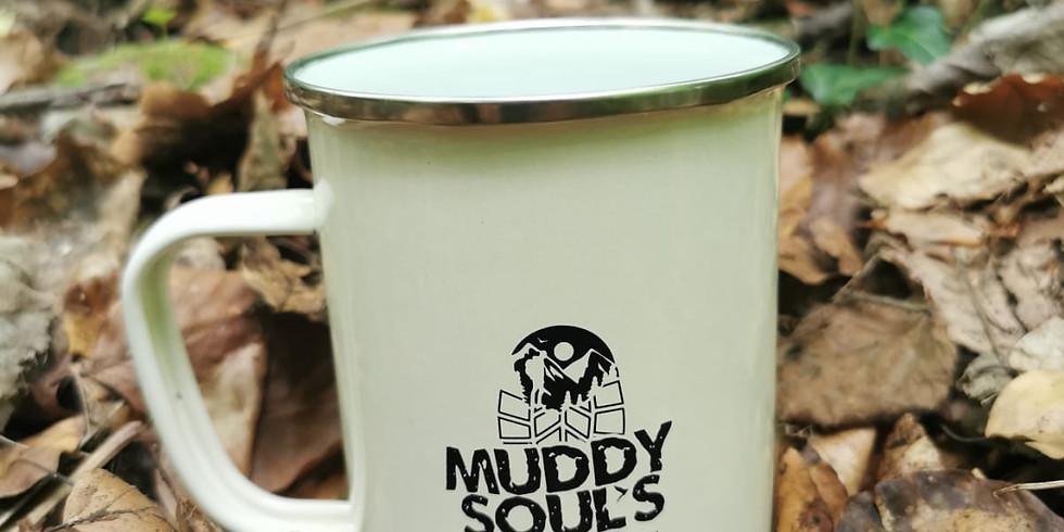 Muddy Soul's Large Vintage Enamel 680 ml Mugs