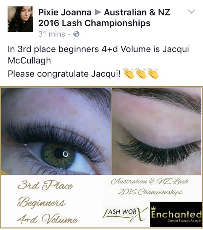 2016 Australian & NZ Lash Championships
