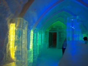 Ice Bar in Village