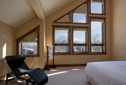 Massive bedroom views of Mt Yotei
