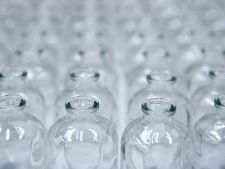 Vidros para perfumaria